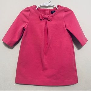 Baby Gap | Pink Shift Dress with a Bow